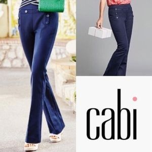 Cabi 5077R nautical style wide leg trousers pant 0